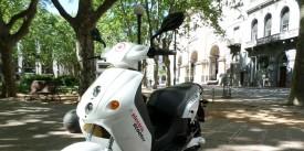 Prueba de la scooter eléctrica VEEMS Volt - Llegando mas lejos