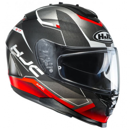 Casco HJC IS-17 LOKTAR MC-1