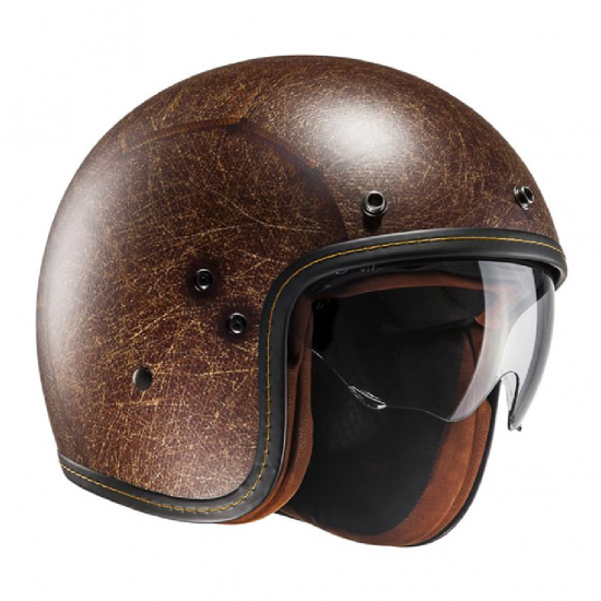 Casco HJC FG-70 VINTAGE FLAT BROWN